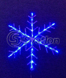 "Мотив ""снежинка"" LED Snowflake  Steady синяя"
